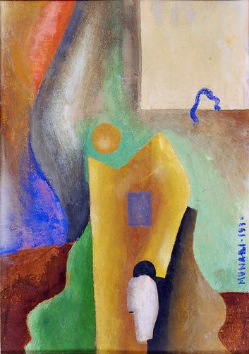「プロローグ:未来派の頃」より ブルーノ・ムナーリ 《無題》 1930年 カーサペルラルテ=パオロ・ミノーリ財団 © Bruno Munari. All rights reserved to Maurizio Corraini srl. Courtesy by Alberto Munari